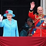 Pictured: Queen Elizabeth II and Prince Philip.