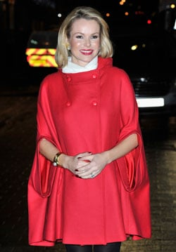 Pictures of Amanda Holden Who Is Six Months Pregnant