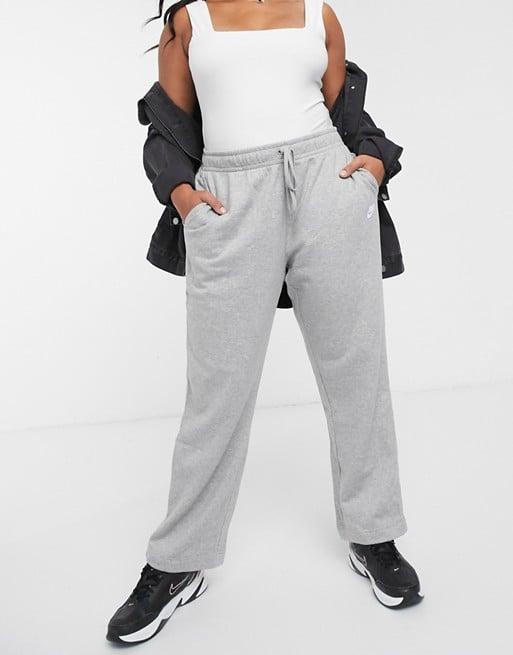 Nike Plus Gray Essentials Loose Fit Sweatpants