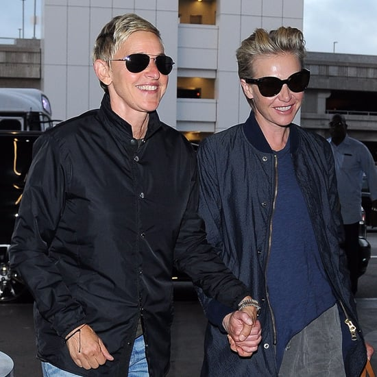 Ellen DeGeneres and Portia de Rossi in LA July 2016