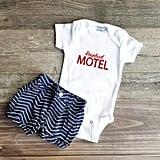 Schitt's Creek Rosebud Motel Baby Onesie
