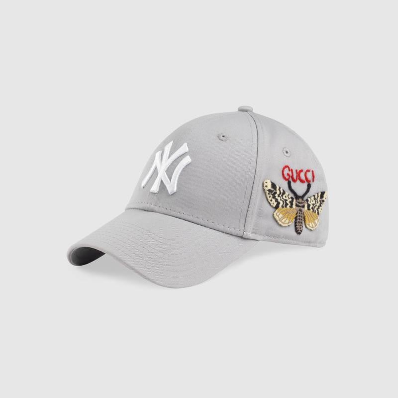 04c88c41879 Gucci Baseball Cap With NY Yankees Patch