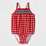Cat & Jack Stripe One-Piece Swimsuit