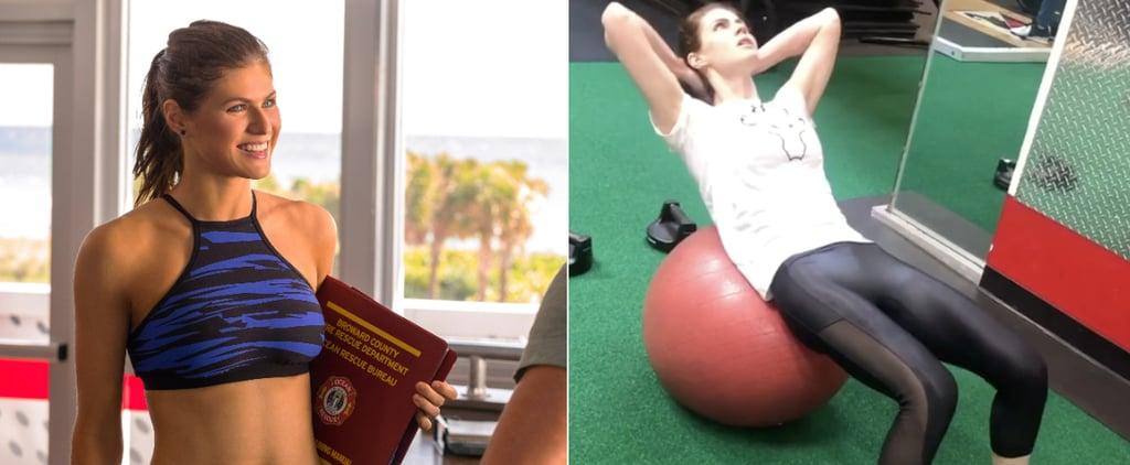 Alexandra Daddario's 20-Minute Full-Body Workout