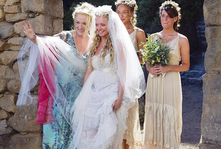 mamma mia movie and tv wedding bridesmaids popsugar entertainment