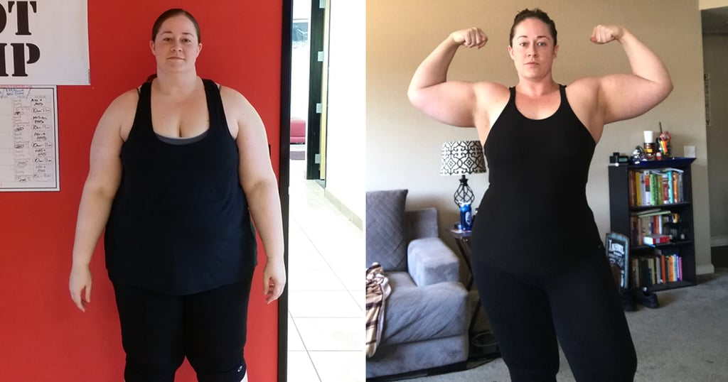 100-Pound Weight-Loss Transformation With Weightlifting