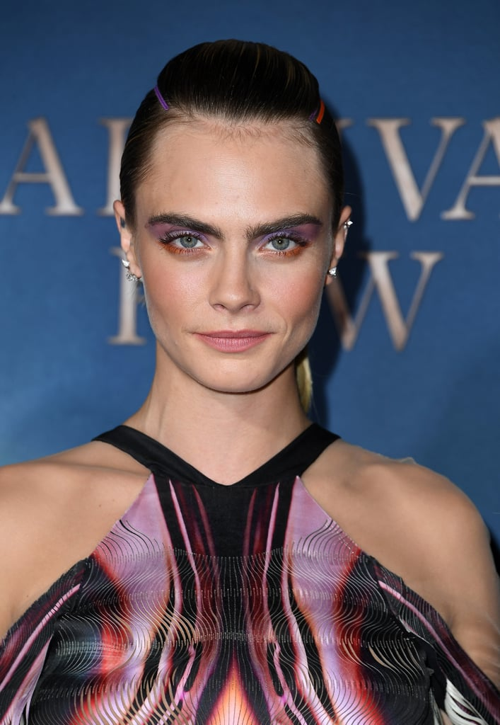 Cara Delevingne's Latest Hairstyle Was Created Using Ribbons From the Craft Store