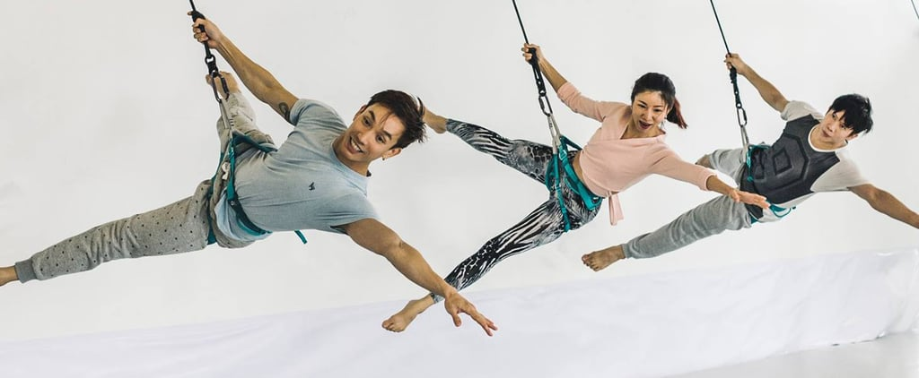 This Bungee Dance Class Is Oh So Fly