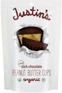 Justin's Dark Chocolate Mini Peanut Butter Cups