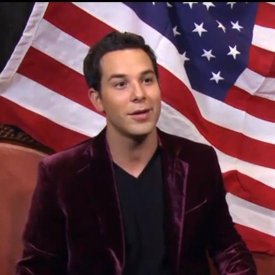 Skylar Astin Singing America the Beautiful