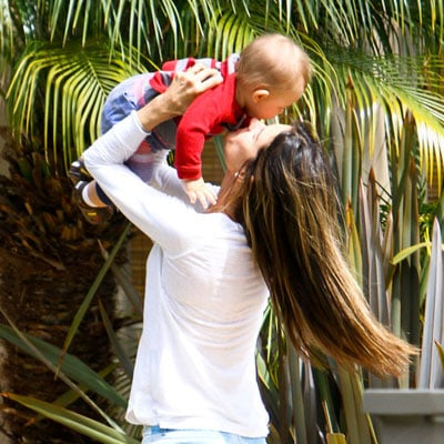 Alessandra Ambrosio With Son Noah in LA