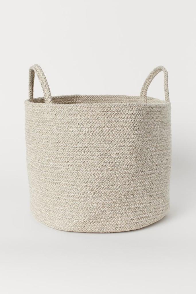 H&M Cotton Storage Basket