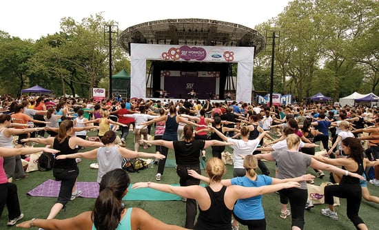 Details on Self Magazine Workout in the Park