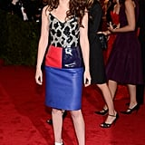 Kristen Stewart chose Balenciaga for the Met Gala.