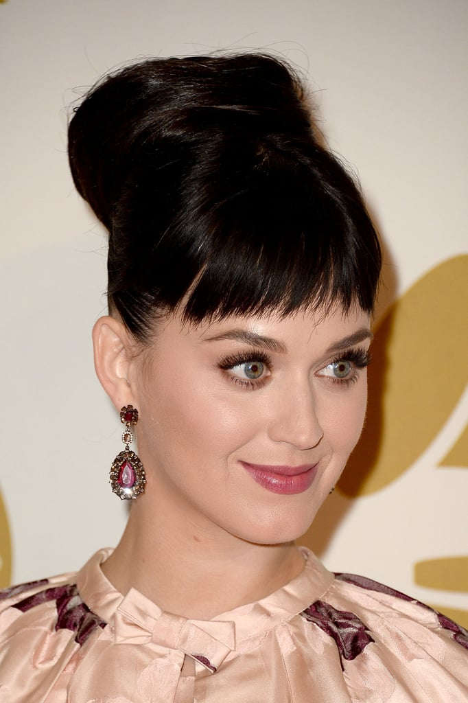 Katy Perry keeps changing up her style, and this week, she got bangs. We asked our readers to weigh in on the look, and overall it's a favorite.