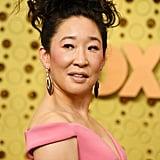 Sandra Oh at the 2019 Emmy Awards
