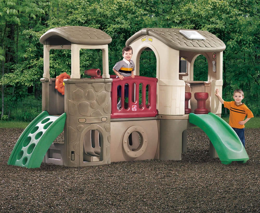 Consider Step2's Clubhouse Climber ($659) an investment that'll turn your backyard into the new neighborhood hot spot.