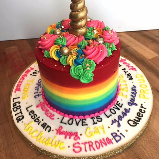 Canadian Bakery Makes Gayest Wedding Cake For Couple
