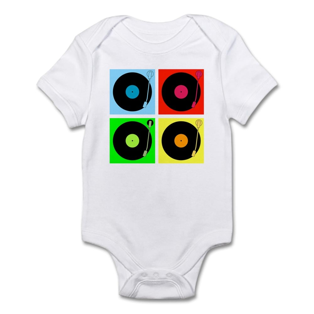 Turntables Infant Bodysuit