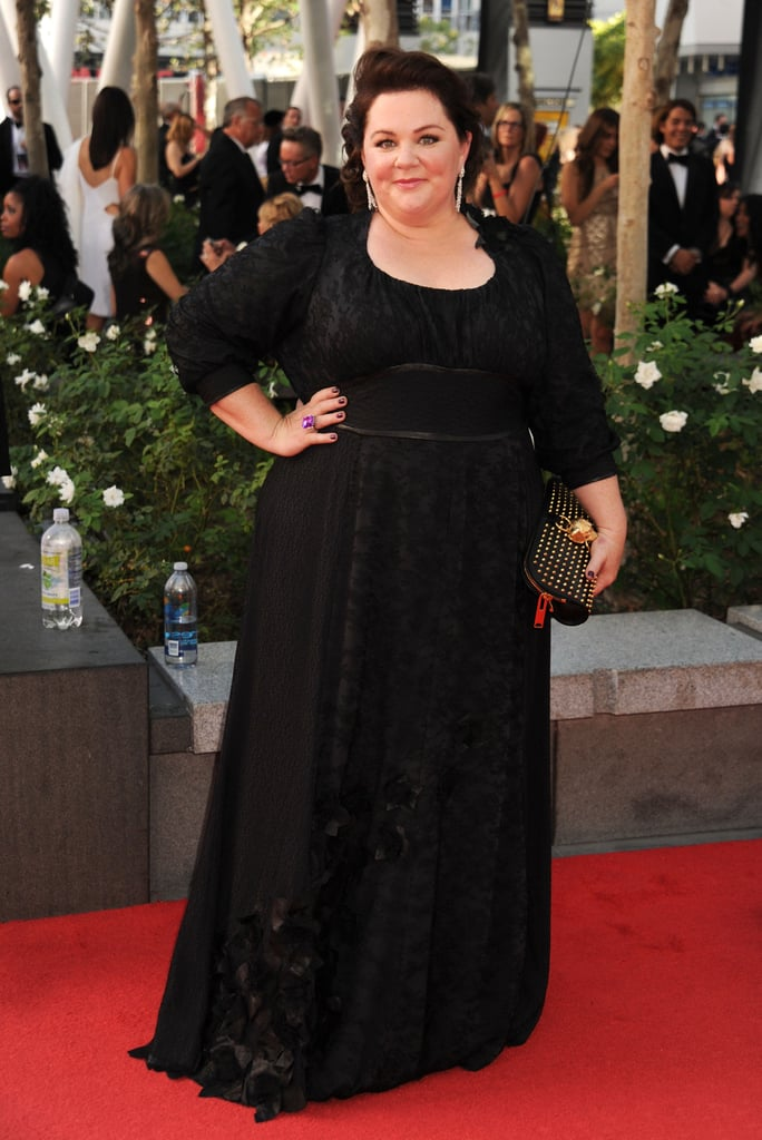 Melissa McCarthy hit the red carpet at the Emmy Awards.