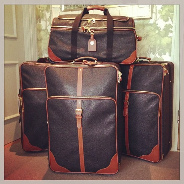 Clearly, Rosie Huntington-Whiteley doesn't pack light! Source: Instagram user rosiehw