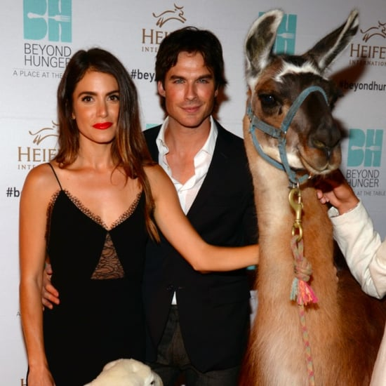 Ian Somerhalder and Nikki Reed Attend the Beyond Hunger Gala