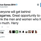 Prince Harry Tweeted For the First Time Ever