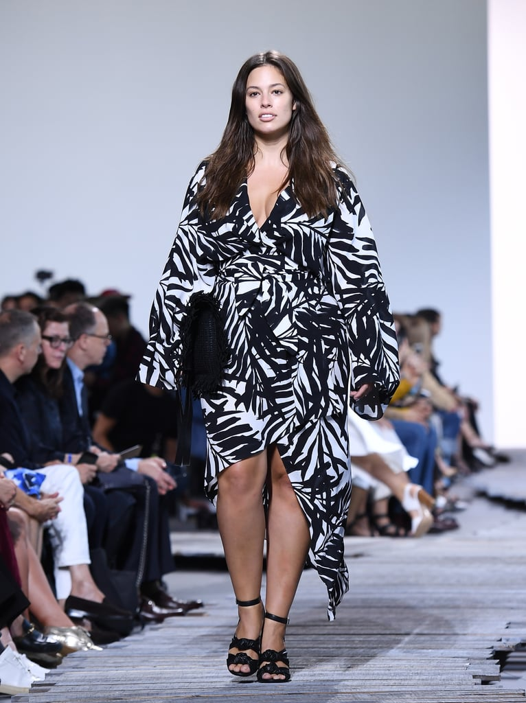 2a26bc09514 Ashley Graham at Fashion Week Spring 2018