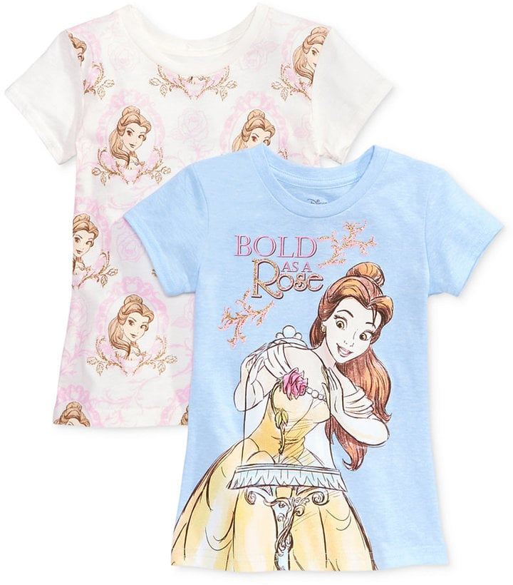 Disney Beauty and the Beast 2-Pk. Graphic-Print T-Shirt Set ($19, originally $28)