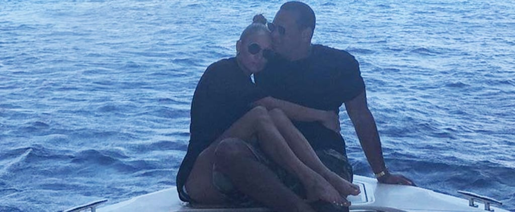 Jennifer Lopez and Alex Rodriguez's Vacation in Italy 2018