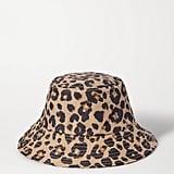 Loeffler Randall Leopard Print Bucket Hat