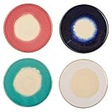 Rivet Modern Ceramic 4-Coaster Set