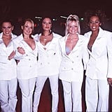 Spice Girls Matching White Outfits