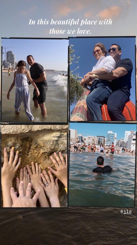 Jennifer Lopez Alex Rodriguez Vacation Photos in Israel 2019