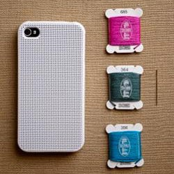 Cross-Stitch iPhone Case