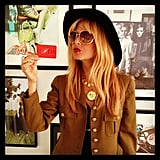 Rachel Zoe shared a proud moment with her followers — she received her official CFDA member card! Source: Instagram user rachelzoe