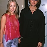 In June 2000, Peter Facinelli and Jennie Garth went to Harper's Bazaar's Dinner to Celebrate Who's Who in LA.