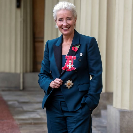 Emma Thompson Investiture Sneakers November 2018