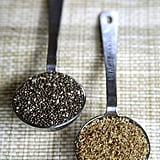 Flaxseed and chia seeds