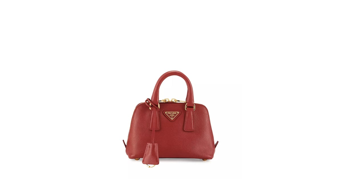 46f424ce733f Prada Mini Saffiano Promenade Bag | Mini Designer Handbags | POPSUGAR  Fashion Photo 8