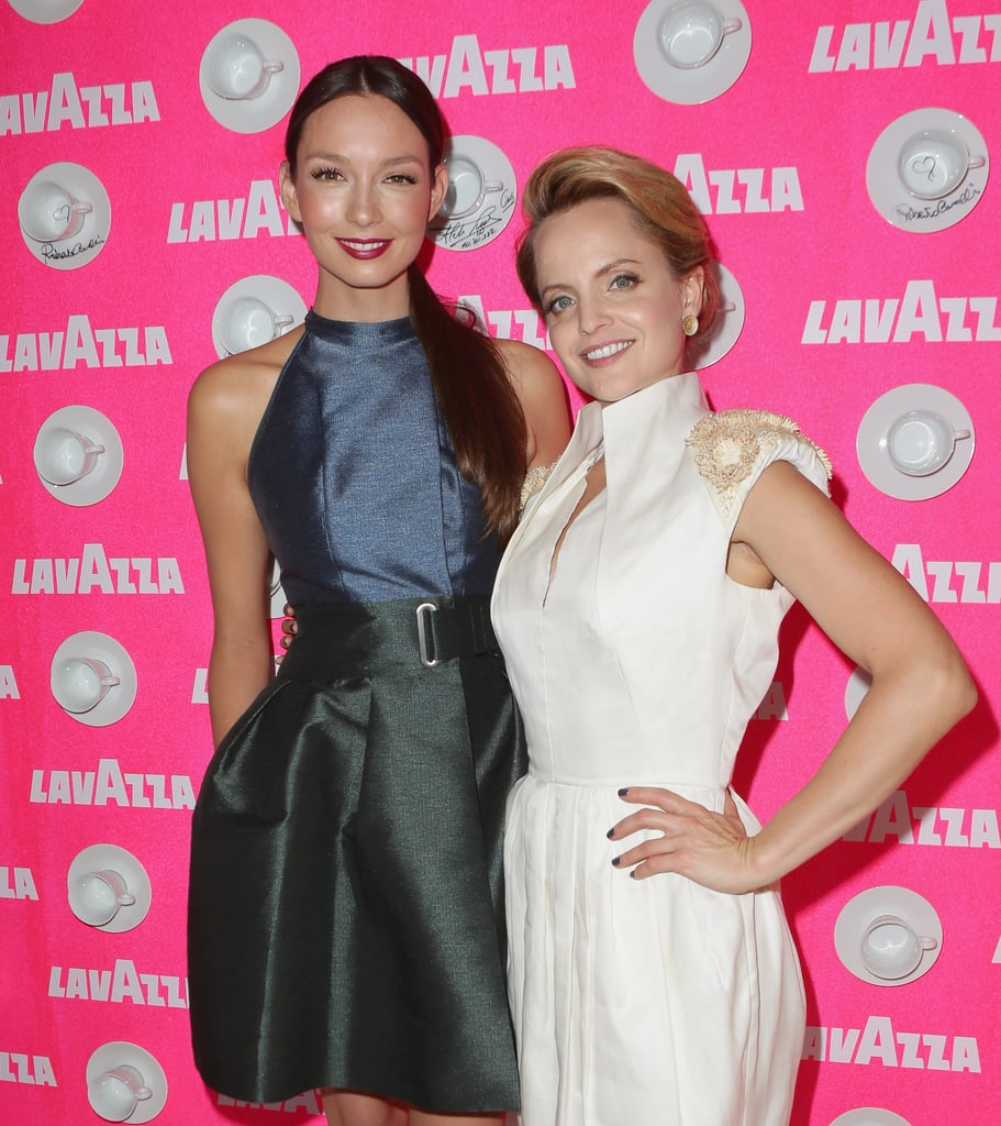 Ricki-Lee Coulter and Mena Suvari