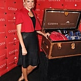 Sienna went for red and black at an event in 2007.