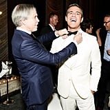 Tommy Hilfiger and Andy Cohen at Vera Wang's Lifetime Achievement Award Celebration in New York. Photo: Benjamin LozovskyBFAnyc.com