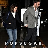 Ben Affleck and Jennifer Garner walked to their car.