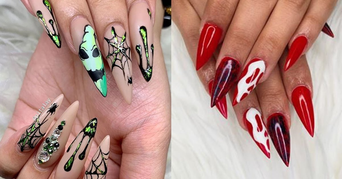 Halloween Stiletto Nail Art Ideas | POPSUGAR Beauty UK