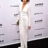 Chrissy Teigen attended the amfAR New York Gala.