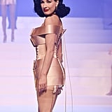Dita Von Teese on the Jean Paul Gaultier Runway