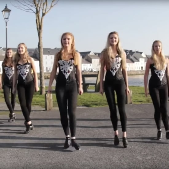 "Irish Dancers Dancing to Ed Sheeran's ""Shape of You"" Video"