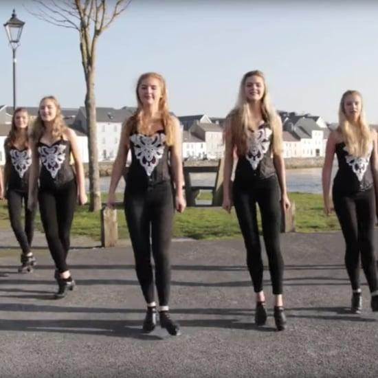 """Irish Dancers Dancing to Ed Sheeran's """"Shape of You"""" Video"""