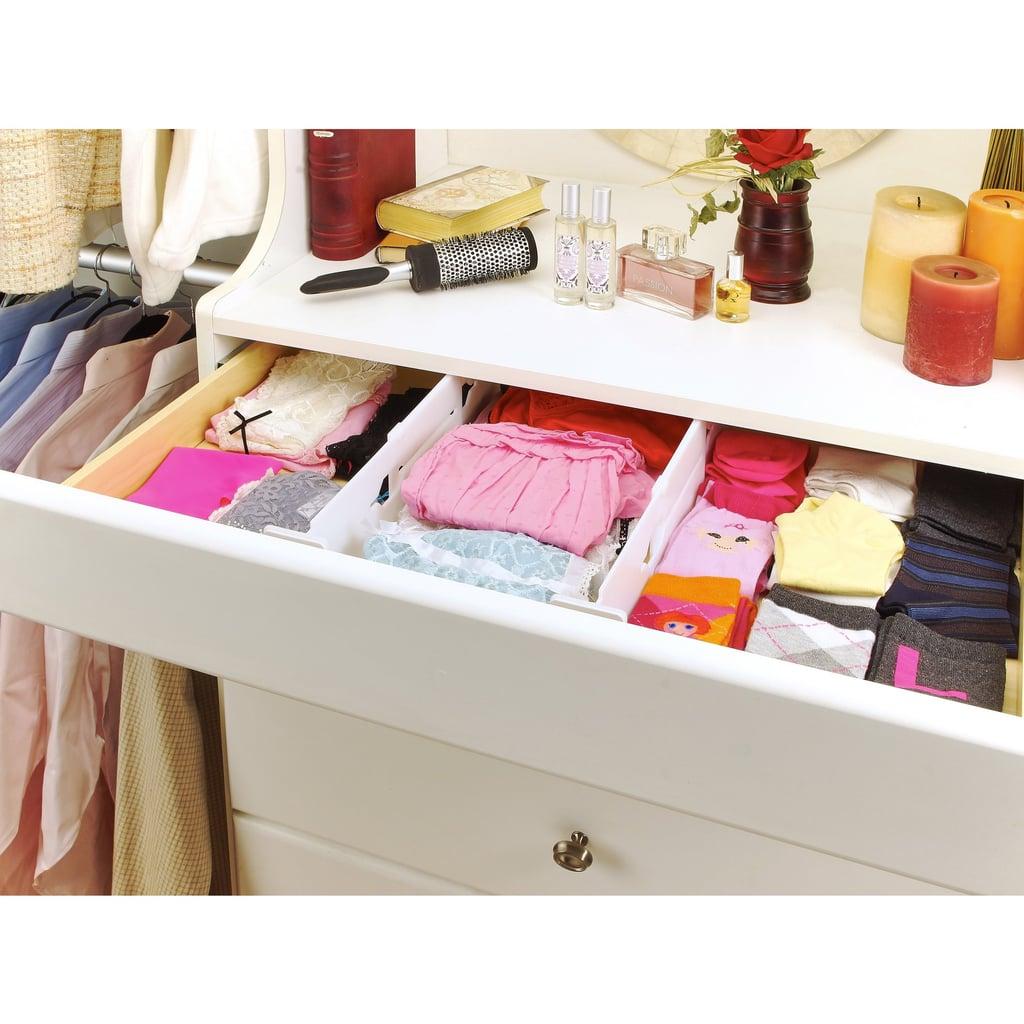 Simplify Adjustable Drawer Organizer